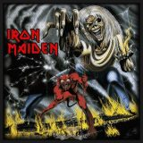 Iron Maiden - Standard Patch.  Number of the Beast (Packed).  felvarró