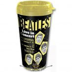 The Beatles - Travel Mug. 1962 Live in Concert with Plastic Body. utazó pohár.