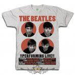 The Beatles - Unisex Premium Tee - 1962 Performing Live  zenekaros  póló.
