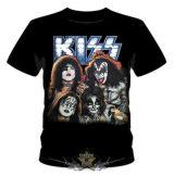 Kiss - Band foto. NFre99.  zenekaros  póló.