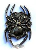 Spider,  fém motoros jelvény