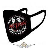 * ACTION - Chaos brigád. - Textil pamut kétfalas maszk.   maszk,  kendő.