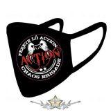 ACTION - Chaos brigád. - Textil pamut kétfalas maszk.   maszk,  kendő.