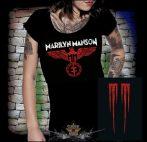 Marilyn Manson - Eagle logo  női póló