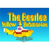 THE BEATLES - YELLOW SUBMARINE.   képeslap, postcard