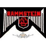 RAMMSTEIN - LOGO  felvarró