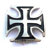 Iron cross,   nagyméretű fém motoros jelvény