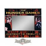 Az éhezõk viadala -  The Hunger Games. District 12 Tributes. Picture Frame-Mirror. tükör