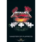 Metallica (Master of Puppets).  plakát, poszter