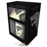 Game of Thrones (Stark).  GIFT SET.  korsó, kehely, bögre