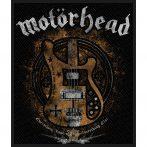 Motorhead - Lemmy's Bass.  felvarró
