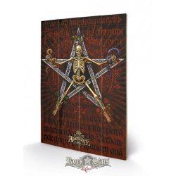 Alchemy - Alchantagram. 40x59.cm.  fa táblakép