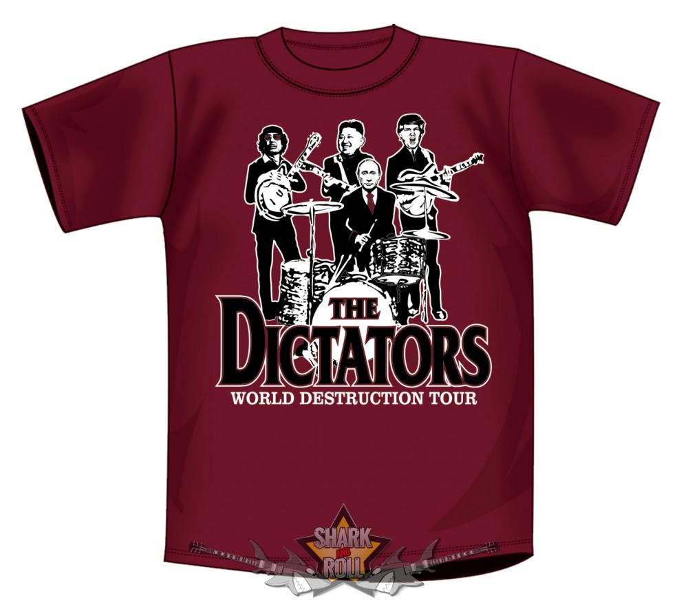 DICTATORS - 2017. póló - Shark n Roll - Rock- Metal - Webshop – Rock ... ec97a6990e
