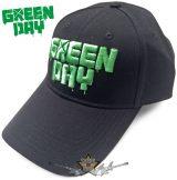 Green Day - Unisex Baseball Cap - Dripping Logo.  baseball sapka