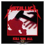 METALLICA - KILL EM ALL Patch  zenekaros felvarró
