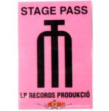 LP RECORDS PRODUKCIÓ.   Stage pass.