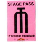 LP RECORDS PRODUKCIÓ.   Stage pass.