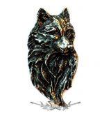 WOLF.  BE. fém  jelvény