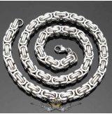 Bizánci lánc. Byzantine Chain Necklace For MEN  8.mm    nyaklánc, medál. JVP2.