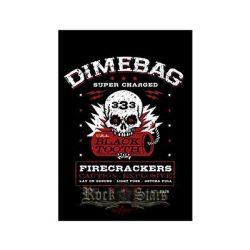 PANTERA - DIMEBAG DARRELL - Firecrackers TEXTILE. zenekaros zászló