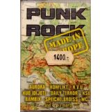 PUNK ROCK - MADE IN EURÓPA.    müsoros kazetta