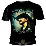 MOTORHEAD - CLEAN YOUR CLOCK.  zenekaros  póló.