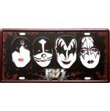 KISS - BAND PHOTO. fém dekorációs tábla.