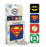 DC COMICS - SUPER HEROES - MIX.  pohár alátét szett