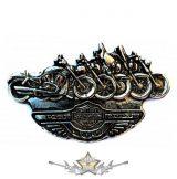 HARLEY DAVIDSON - MOTORCYCLES  BE. fém  jelvény