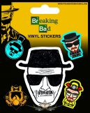 BREAKING BAD (HEISENBERG). Vinyl stickers. matrica szett