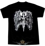 Warriors Angel. T-Shirt.  motoros póló