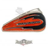 Harley-Davidson® Claw Ripped Brown Fuel Tank Pin - PU-63144. fém motoros jelvény