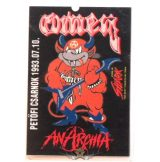 OMEN - ANARCHIA. PECSA. 1993.07.10..  Stage pass.