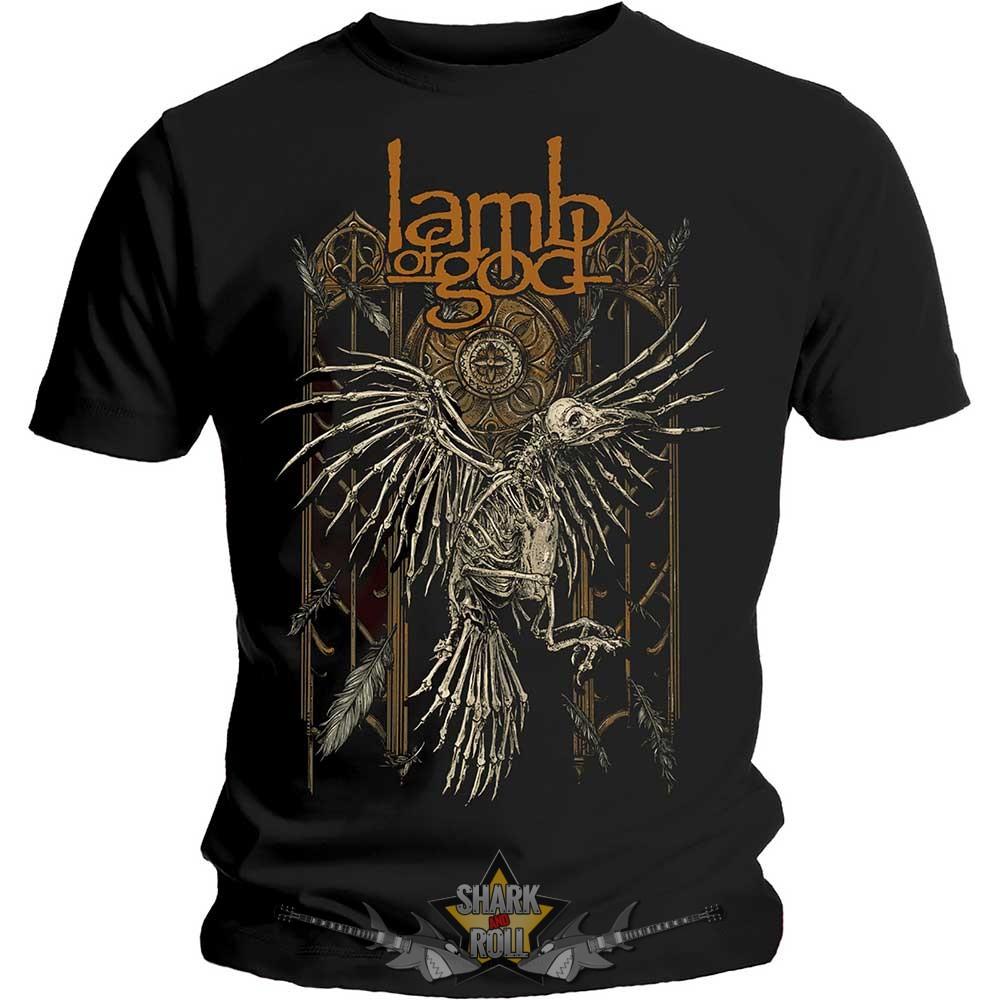 3ff4e812ec9e Lamb Of God - Crow. zenekaros póló. - Shark n Roll - Rock- Metal ...