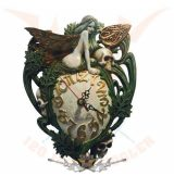 """Alkimista * """"A boltozat*  Artemisia Absinthium Wall clock Alchemy """"The Vault"""" .  fantasy dísz, fali óra"""