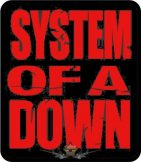 SYSTEM OF A DOWN - LOGO  felvarró