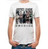 JUSTICE LEAGUE COMICS -  AMERICA.  T-Shirt WHITE.  filmes  póló