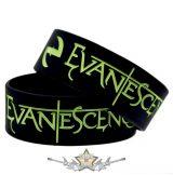 EVANESCENCE - LOGO -  Rubber Wristband.   szilikon karkötő