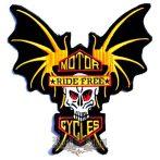 MOTOR RIDE FREE CYCLES  hátfelvarró