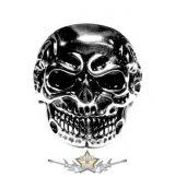 Bones Skull. Steinless Steel. gyűrű