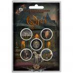 Opeth - Button Badge Pack.  In Caude Venenum.   jelvényszett