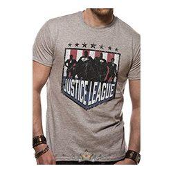 3cbdbdedd3c8 JUSTICE LEAGUE COMICS - SILHOUETTE SHIELD. filmes póló - Shark n Roll - Rock-  Metal - Webshop – Rock ruházat - Heavy Metál - Rock - Punk - Póló -  Kiegészítő ...