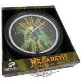 """Megadeth - Neon Logo Design Decor Clock """"Rare"""" RITKA * Falióra"""
