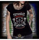 Tetovált örült, rocker.  női póló