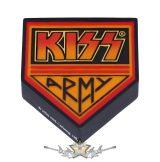 KISS - Army Bottle Opener Magnet 8cm.. sörnyitó,mágnes