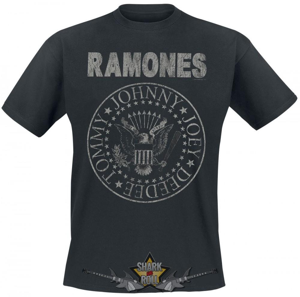 RAMONES - VINTAGE LOGO. zenekaros póló - Shark n Roll - Rock- Metal ... 87a0af5941