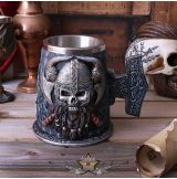 Danegeld Viking - Tankard with removable stainless steel insert. korsó, kehely.