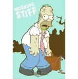 THE SIMPSONS - WORKING STIFF plakát, poszter
