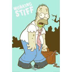 THE SIMPSONS - WORKING STIFF plakát, poszter
