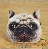 3D Dog coin bag model 3.  3d hatás.  pénztárca, apró pénz tartó